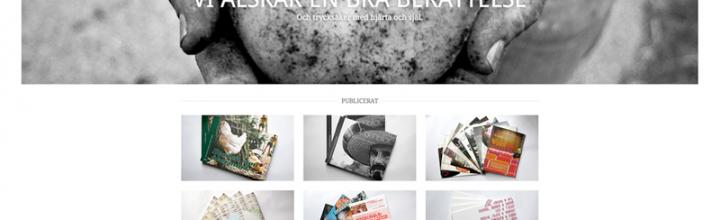 Ny webbsida till oss själva